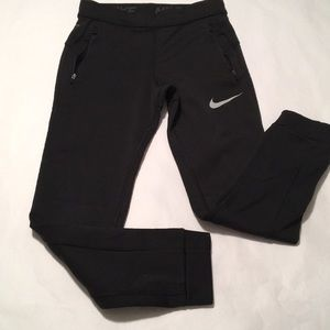 Nike black running yoga pants Dri - Fit Medium